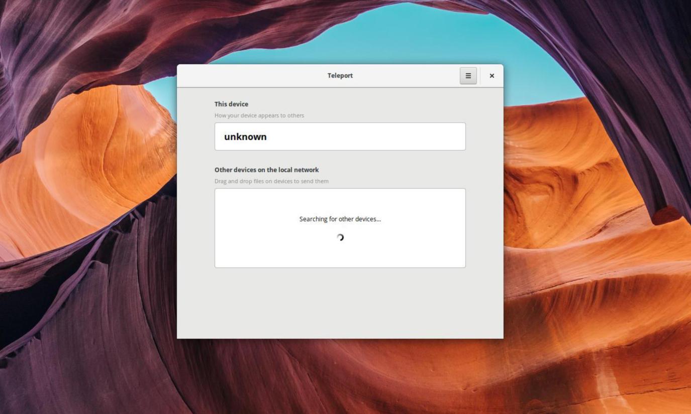 Come inviare file su Linux con Teleport 1