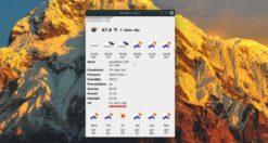 Come ottenere previsioni meteo veloci su Linux con Meteo