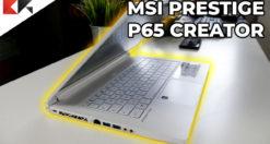 MSI Prestige P65 Creator 8RF