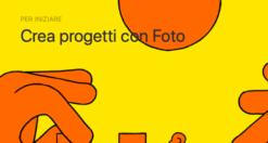 Come creare progetti con l'app Foto su Mac 1