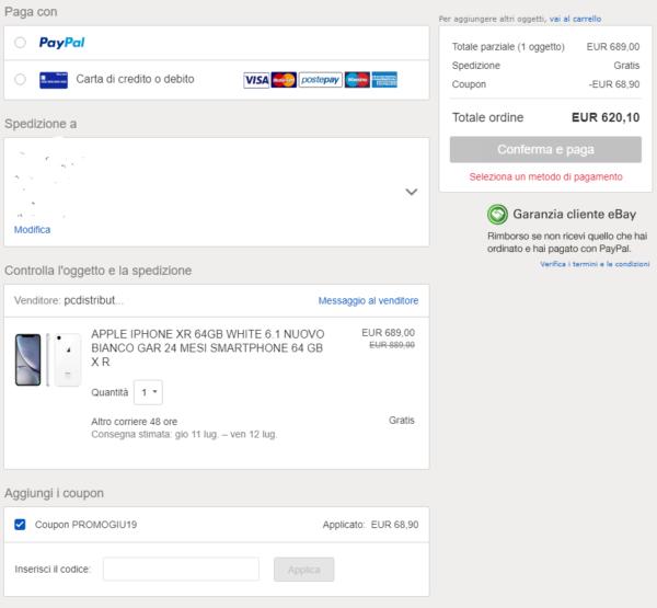 07851889c95ead EBAY: fino a 100€ su Smartphone, Videogiochi, Console, TV, Cuffie e ...