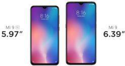 Xiaomi Mi 9 vs Xiaomi Mi 9 SE