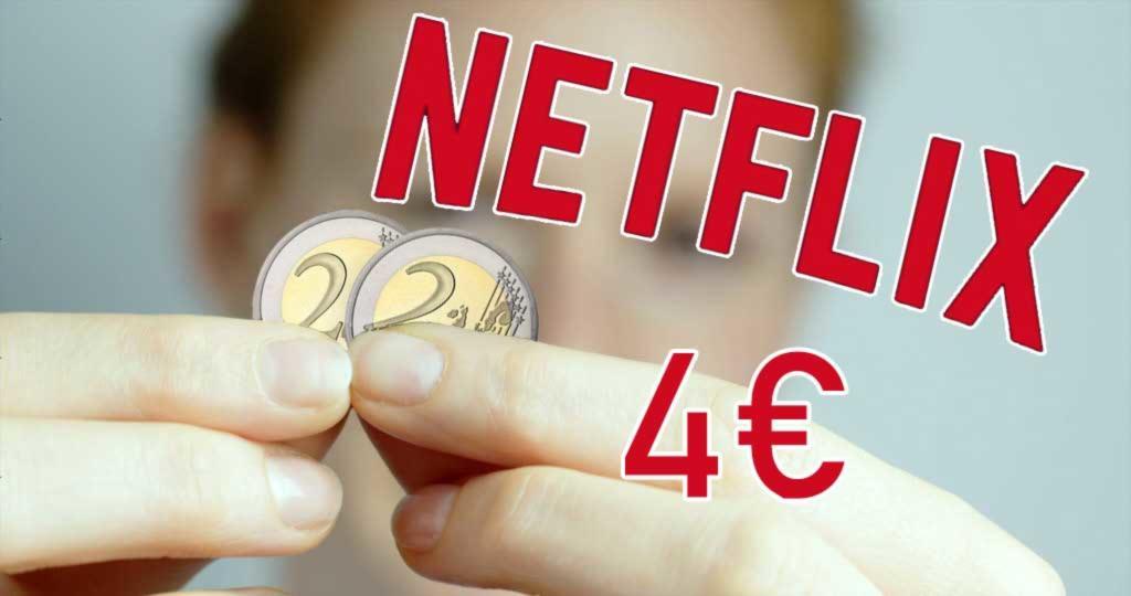 netflix togheter price 4 euro