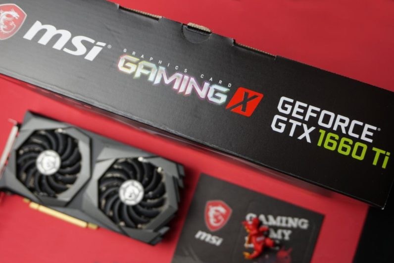 GeForce GTX 1660 Ti GAMING X