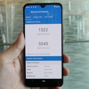 Xiaomi Mi A3 Geekbench