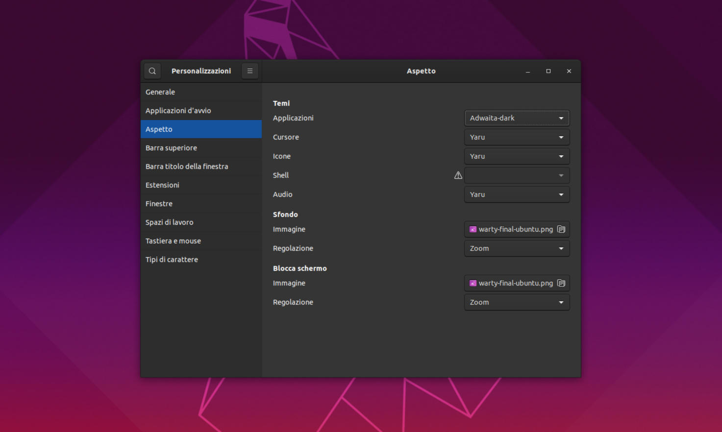 Come attivare Dark Mode su GNOME Shell 1
