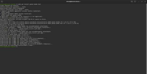 Come attivare Dark Mode su GNOME Shell