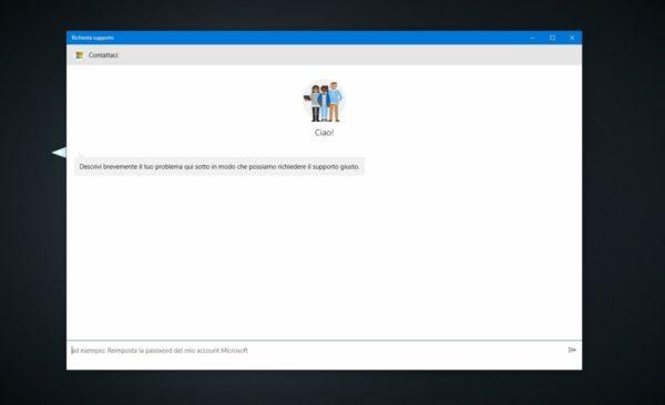 Come contattare Microsoft