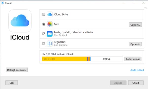 Come funziona iCloud 4