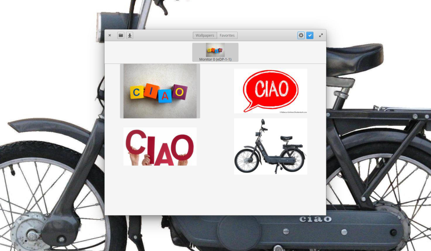 Come impostare sfondi diversi su piu display in GNOME Linux 1