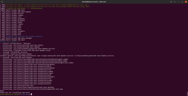 Come regolare retroilluminazione delle tastiere Corsair su Linux