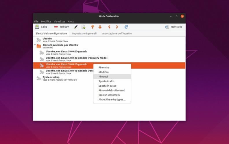 Come rimuovere voci di avvio in Grub su Linux 1