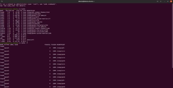 Come trovare informazioni sul disco rigido su Linux