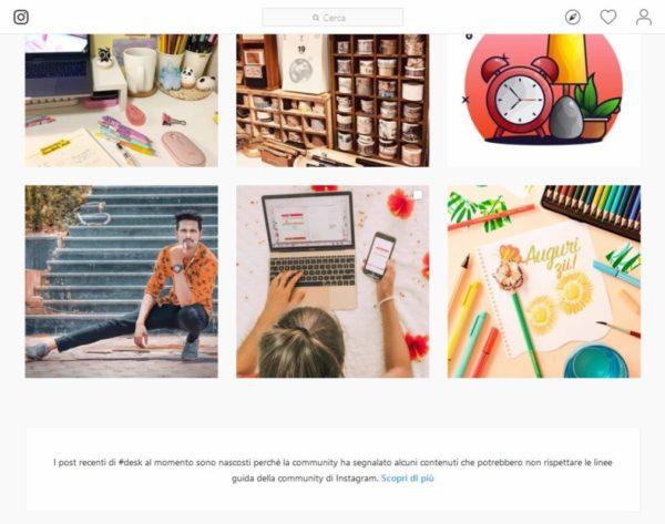 Hashtag bannati Instagram: quali sono e come riconoscerli