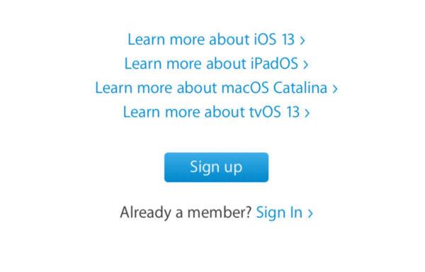 Come iscriversi alle beta pubbliche di Apple 1