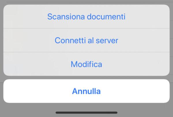 Come scansionare documenti con iPhone file
