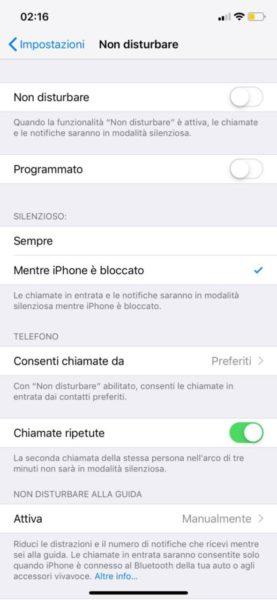 Notifiche iPhone non funzionano le soluzioni 1