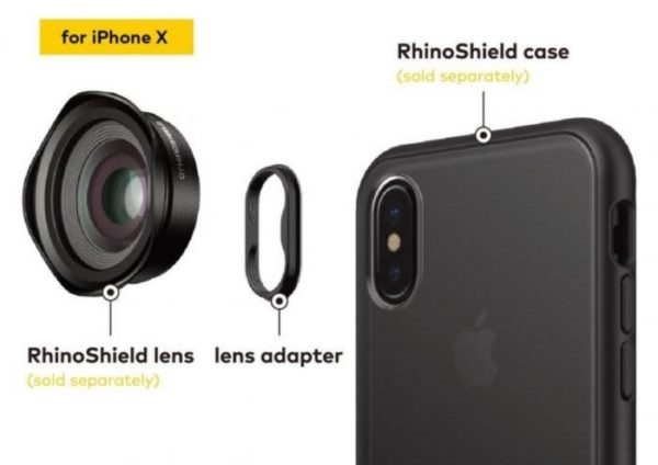 Rhinoshield lenti iphone