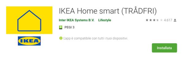 Come collegare accessori IKEA ad assistenti vocali 1