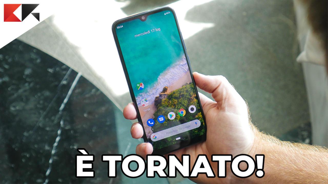 Xiaomi Mi A3 copertina