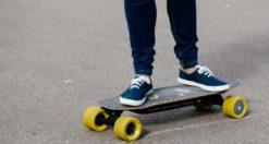 longboard skateboard elettrico