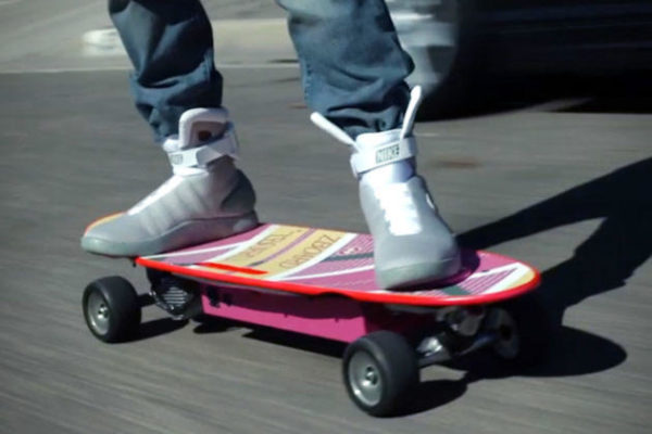 longboard skateboard elettrico - back to the future