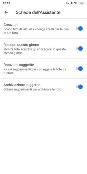 Come personalizzare l'assistente di Google Foto
