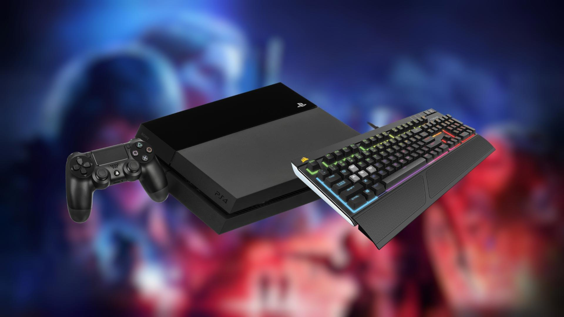 tastiera da gaming ps4