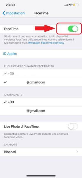 Come disattivare Facetime su iPhone, iPad e Mac