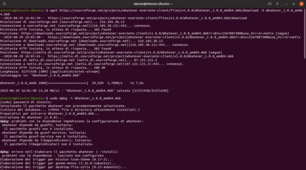 Come installare Evernote su Linux