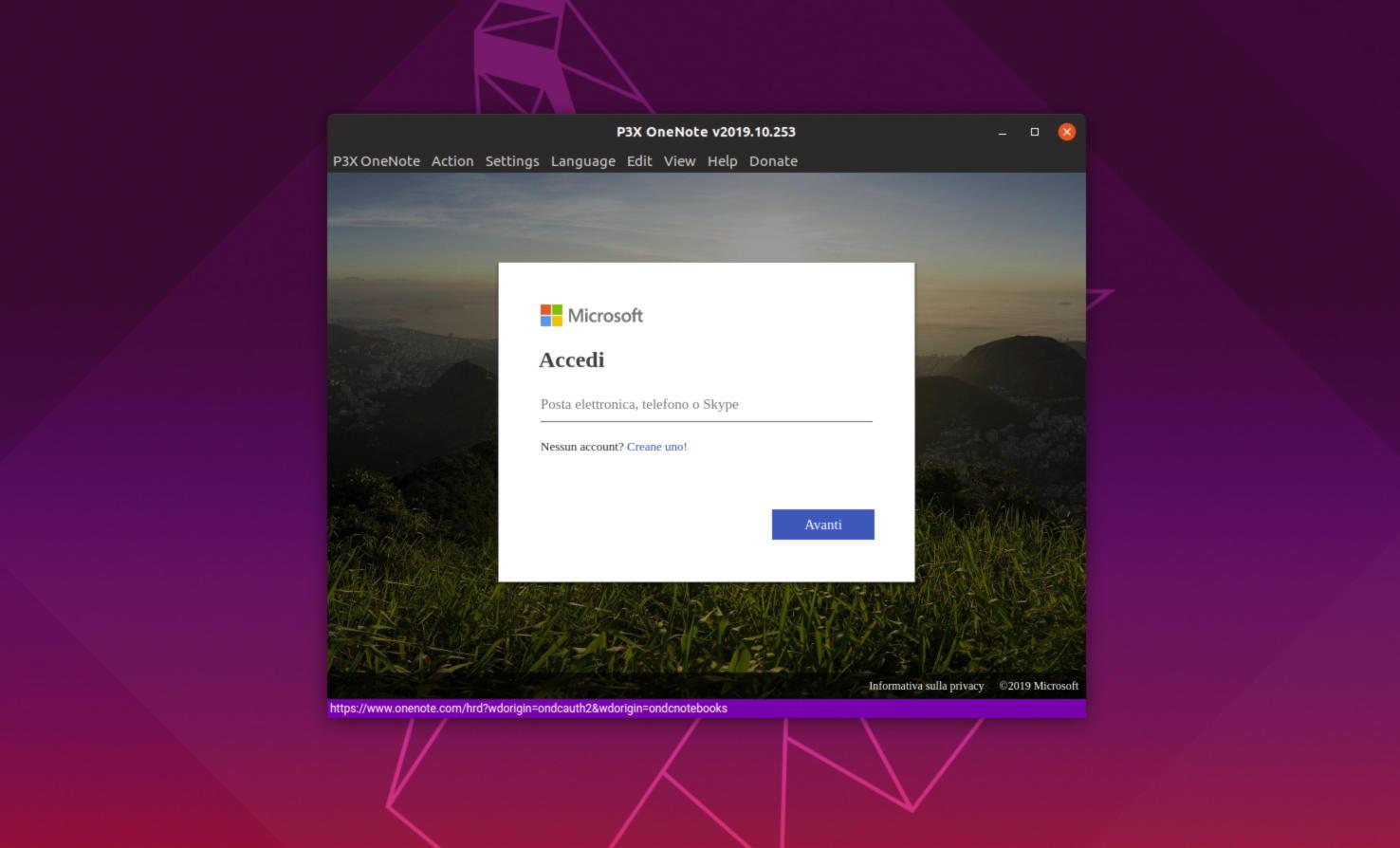 Come installare Microsoft OneNote su Linux 2