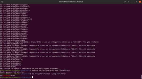 Come installare icone di macOS Catalina su Linux