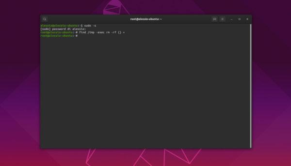 Come ripulire la cartella tmp di Linux