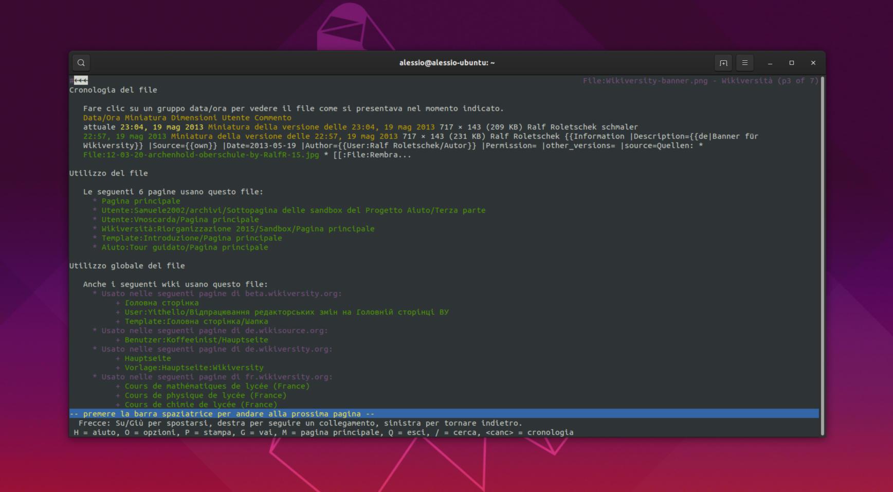 Come usare Lynx per navigare sul Web da terminale Linux 2