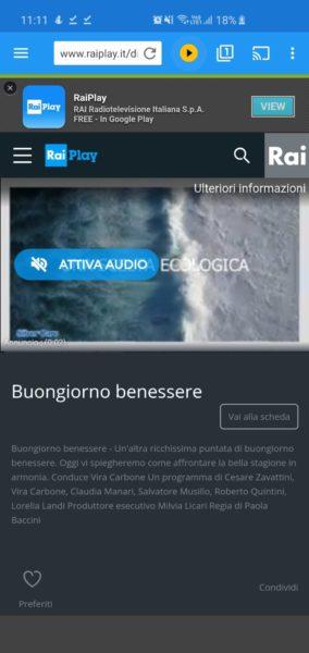 Come vedere canali TV su Chromecast
