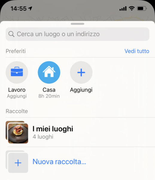 Come creare elenchi di luoghi da visitare su Apple Mappe