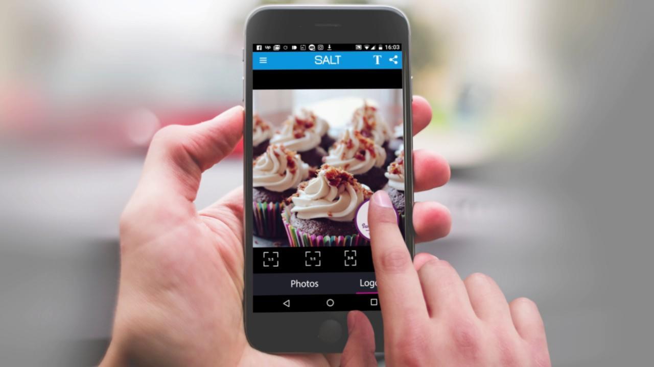 Migliori app per firmare foto o aggiungere loghi 1