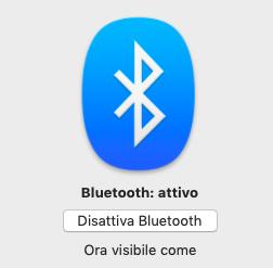 Come inviare file da Mac con Bluetooth