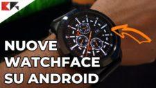 installare watchface alternative su smartwatch android