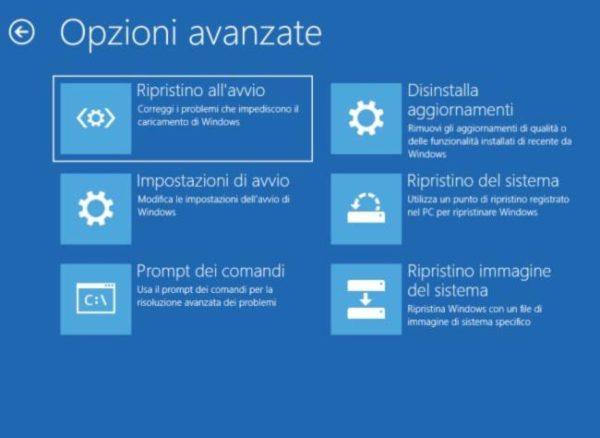 installazione aggiornamenti windows bloccati 1