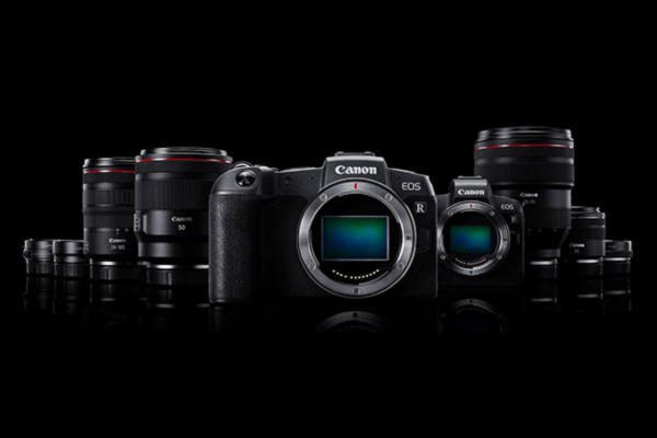 fotocamere mirrorless Canon EOS R