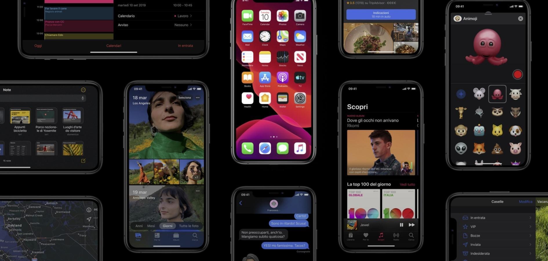Come abilitare la modalità scura Dark Mode su iPhone