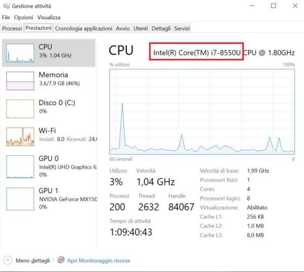 Come capire se un processore Intel supporta la virtualizzazione 2