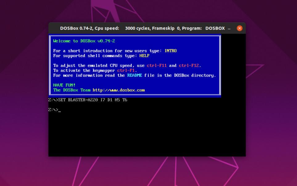 Come giocare ai giochi MS DOS su Linux 1