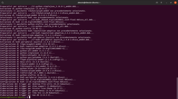 Come installare Kodi su Linux