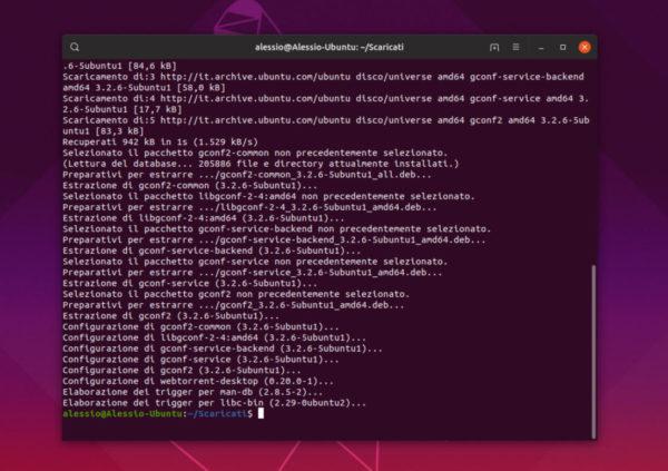 Come installare WebTorrent su Linux