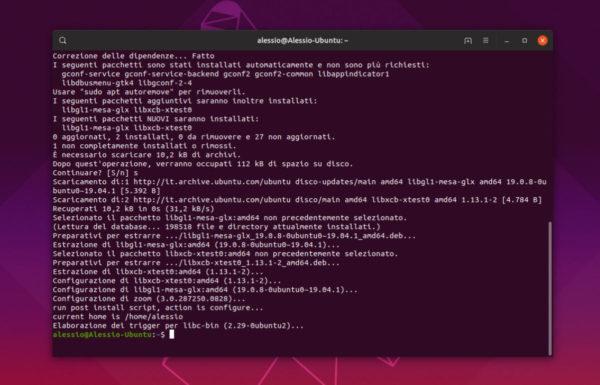 Come installare Zoom su Linux