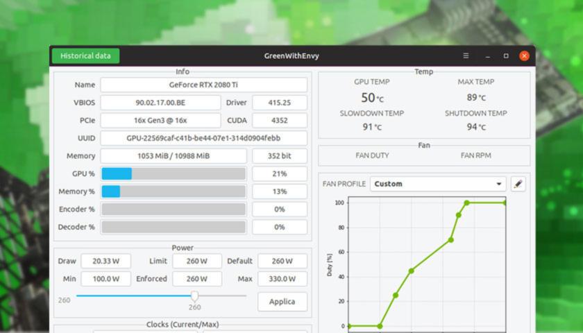 Come overcloccare schede grafiche NVIDIA su Linux 1