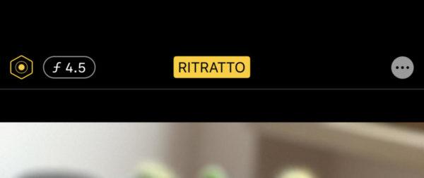 Modificare l'effetto sfocatura dei ritratti su iPhone 2