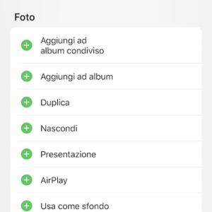Come modificare il menù di condivisione su iPhone 2